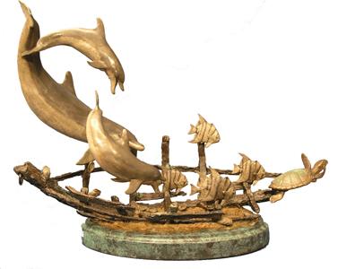 turner sculpture wildlife sculpture marine life. Black Bedroom Furniture Sets. Home Design Ideas